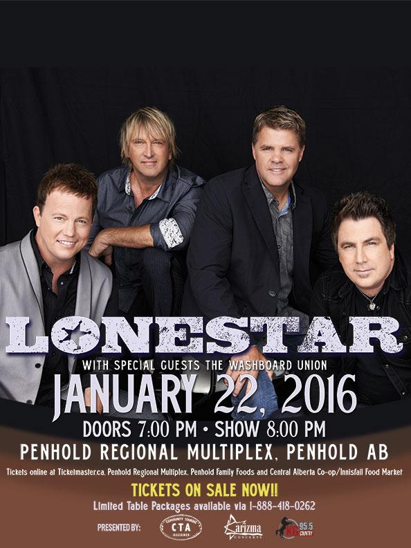 Lonestar 2016 Tour
