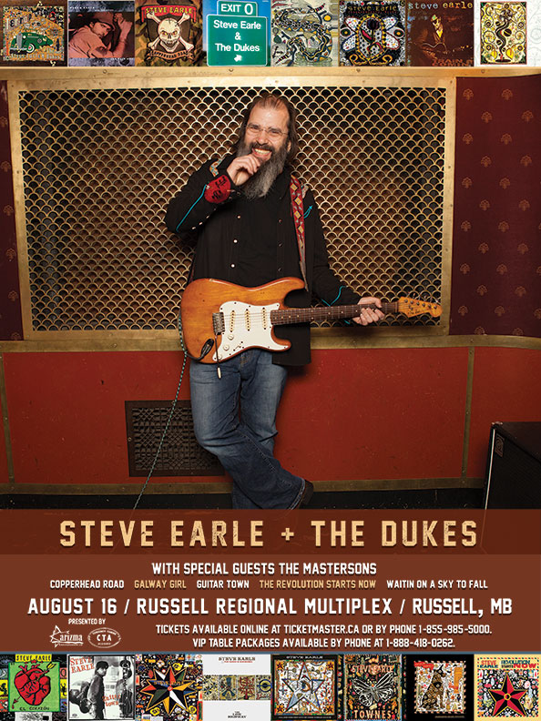 Steve Earle Tour