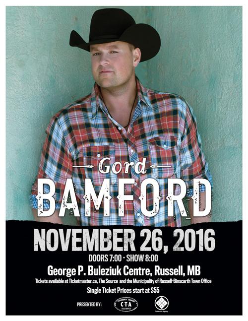 Gord Bamford Russell Manitoba