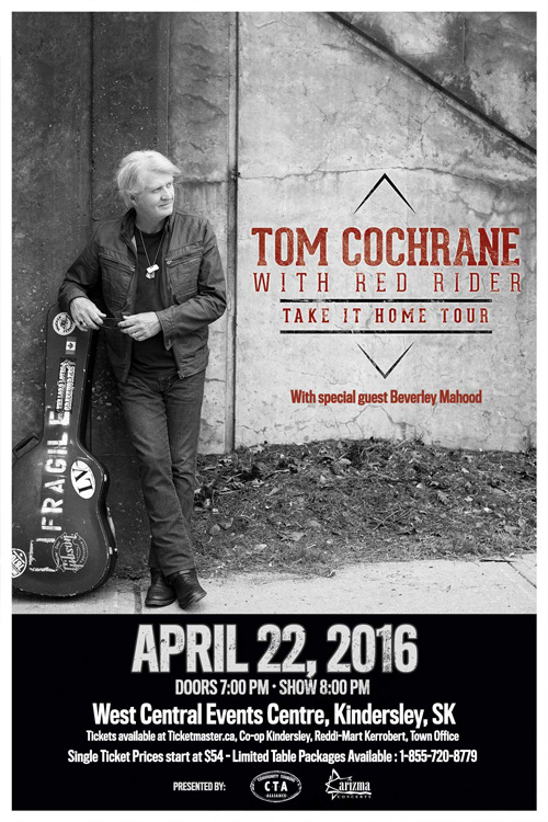 Tom Cochrane Kindersley